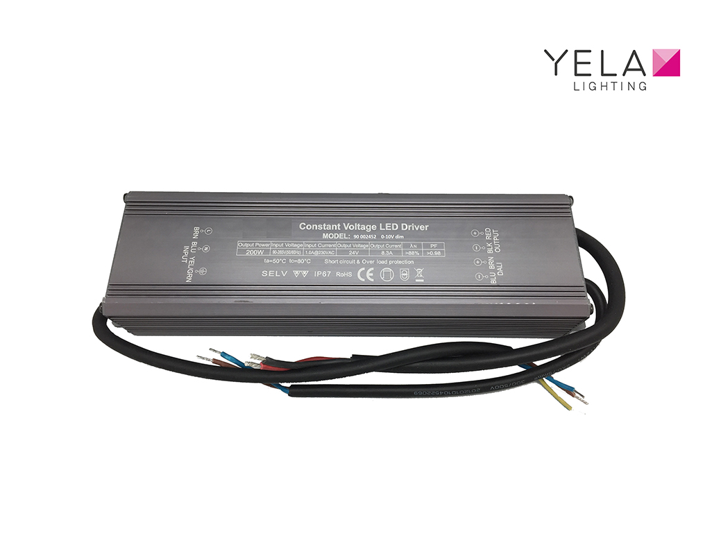 LEDSign Driver 0-10V dimbaar IP67