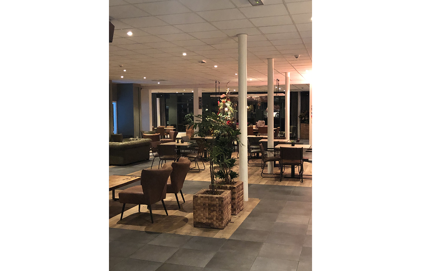 LEDSign project: Amstelhof