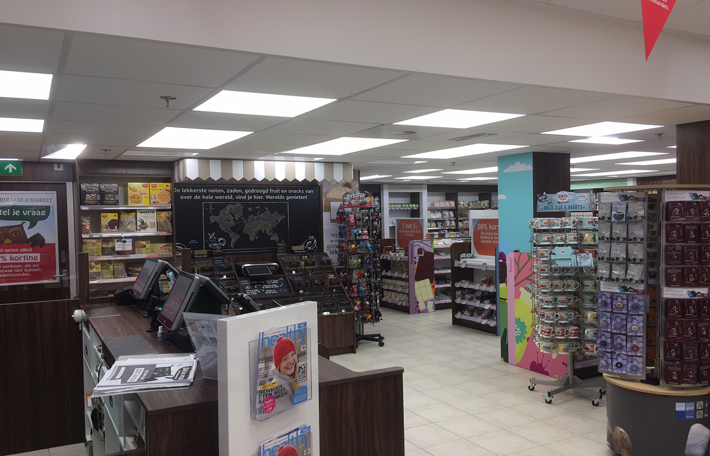 LEDSign project: Holland&Barrett