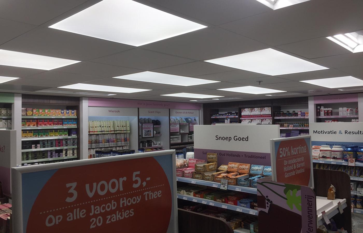 LEDSign project: Holland&Barrett