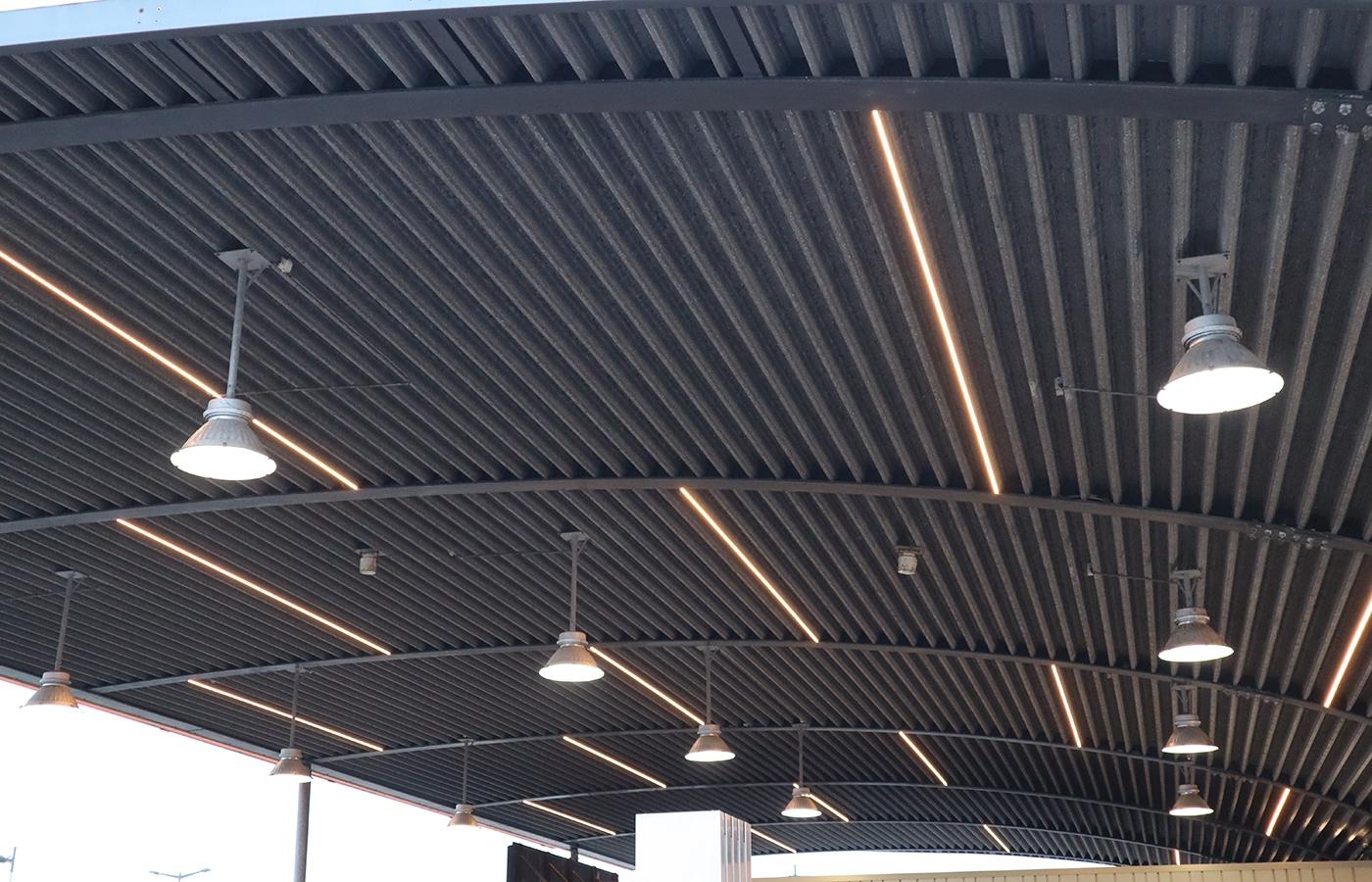 Kriterion Shell LED lijnen