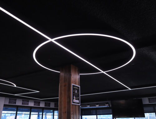 LED voetbalveld en design ringen Kozakkenboys