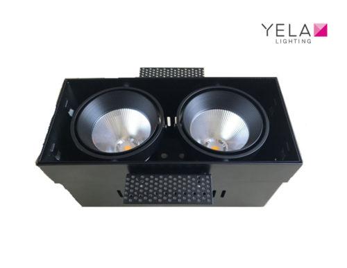 LEDSign Trimless Kardan AR70-dubbel