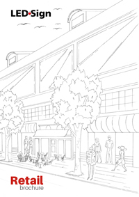 LEDSign Retail brochure