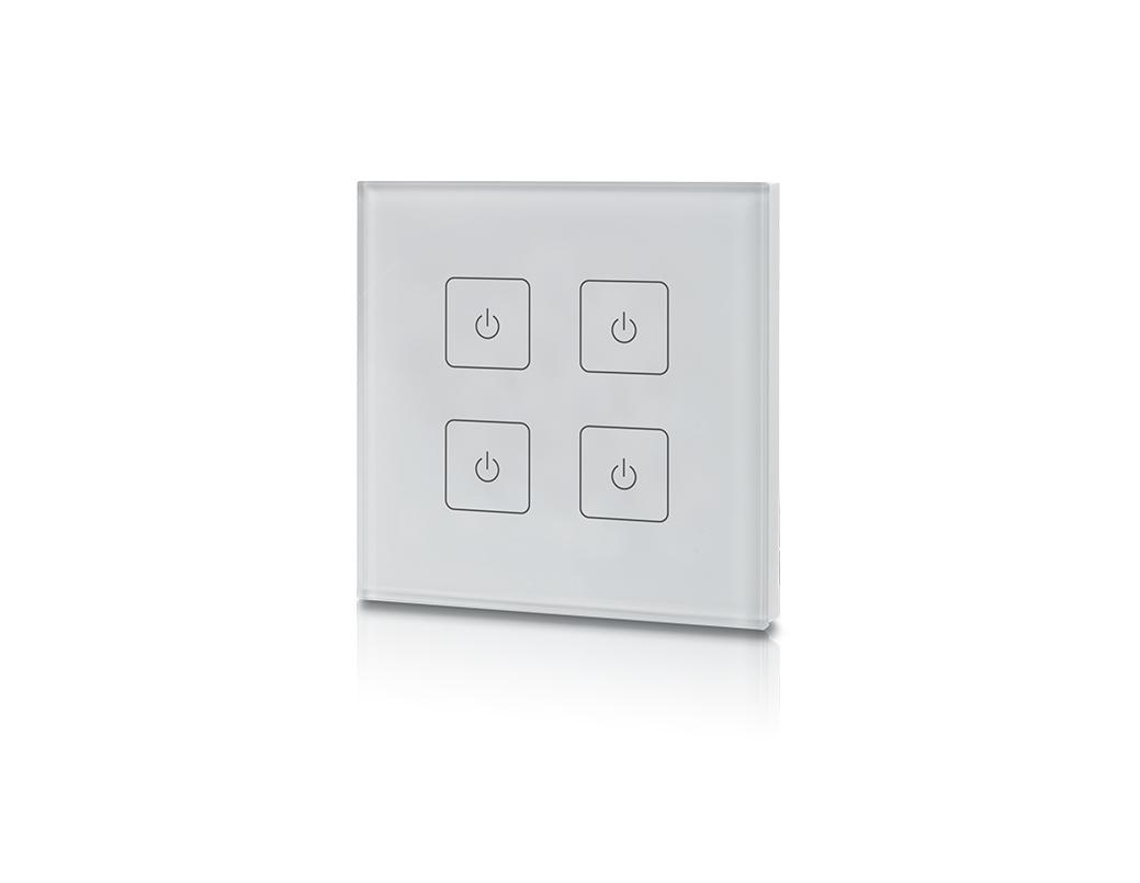 LEDSign RF easy 4 zone inbouw touchdimmer