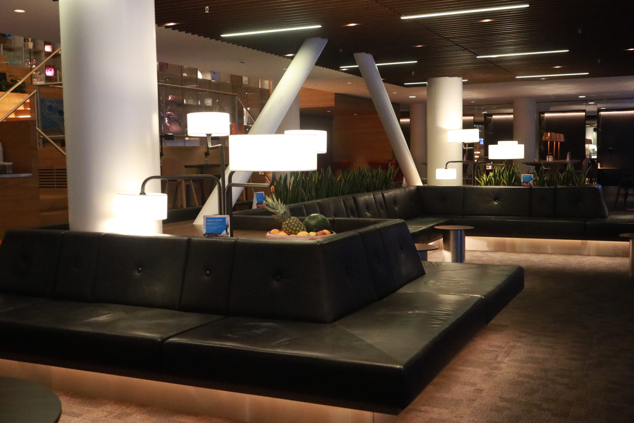 KLM Crown Lounge Dutch Mountain