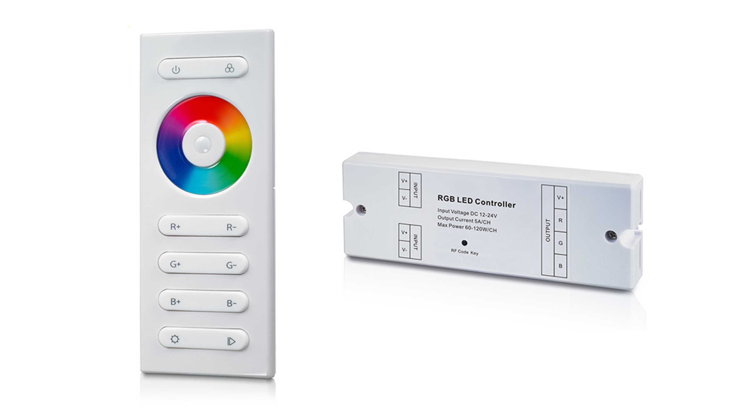 LEDSign accessoires: RF Touch controller (RGB)